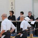 Les sensei organisés en jury photo suivante